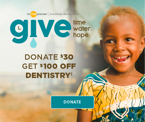 Donate $30, Get $100 Off Dentistry - Modern Dentistry of Northfield